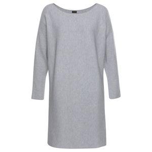 LASCANA Šaty  sivá melírovaná