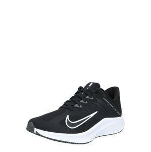 NIKE Bežecká obuv 'QUEST 3'  biela / čierna