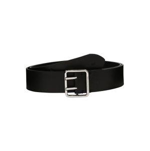 Calvin Klein Jeans Gürtel 'DOUBLE'  čierna