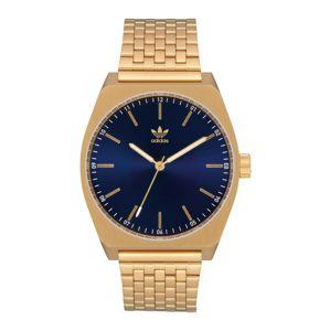ADIDAS ORIGINALS Analógové hodinky 'Process M1'  zlatá / modrá