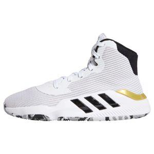 ADIDAS PERFORMANCE Športová obuv 'Pro Bounce 2019'  čierna / biela / zlatá