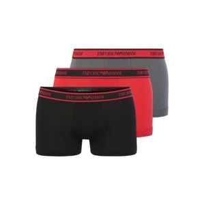 Emporio Armani Boxerky  antracitová / červené / čierna