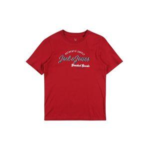 Jack & Jones Junior Tričko  červená