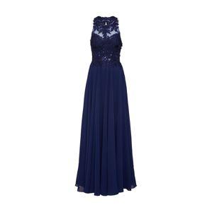 mascara Večerné šaty 'LACE EMB'  námornícka modrá