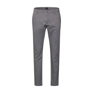 Dockers Nohavice 'WASHED KHAKI SLIM (TAPERED) - STRETCH TWILL'  sivá