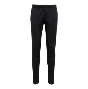 SELECTED HOMME Chino nohavice 'SLHSLIM-ARVAL'  čierna
