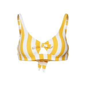 Hunkemöller Bikinový top 'Giorgio'  žltá / biela
