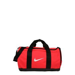 NIKE Športová taška  čierna / biela / ružová