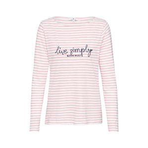 TOM TAILOR Shirt  ružová / béžová