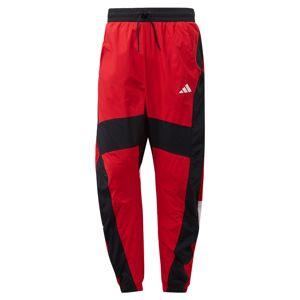 ADIDAS PERFORMANCE Športové nohavice 'O Shape'  červená / čierna / biela