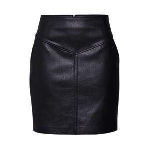 Pepe Jeans Sukňa 'Pepa'  čierna