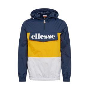 ELLESSE Prechodná bunda ' Domani '  biela / žltá / modrá
