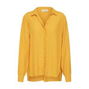 modström Bluse 'Ryder shirt'  žlté