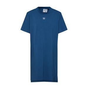 ADIDAS ORIGINALS Oversize šaty 'Frefoil'  modré / biela