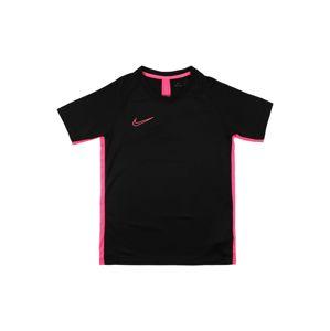 NIKE Funkčné tričko 'Academy'  ružová / čierna