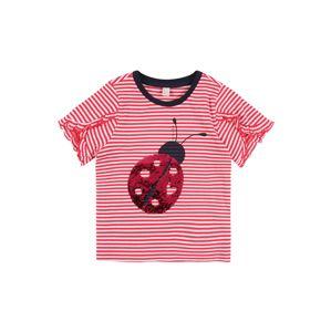 ESPRIT Tričko  ružová / červená