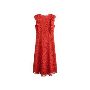 MANGO Kokteilové šaty 'Sophia'  červená