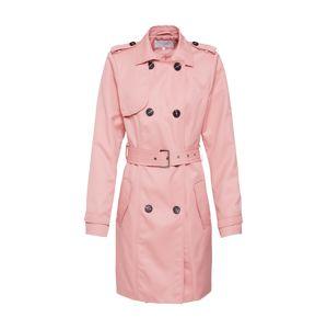 VILA Prechodný kabát 'VITHREE'  ružová