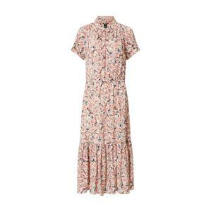 Lauren Ralph Lauren Letné šaty 'VEDARRA'  púdrová / zmiešané farby