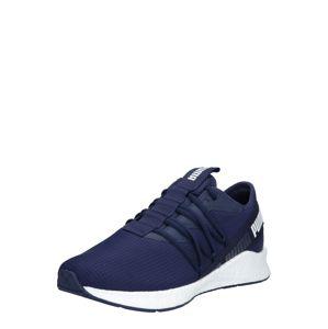 PUMA Športová obuv 'NRGY Star'  biela / námornícka modrá