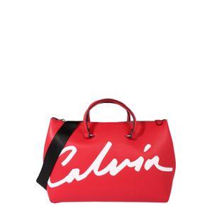 Calvin Klein Jeans Víkendová taška  červená