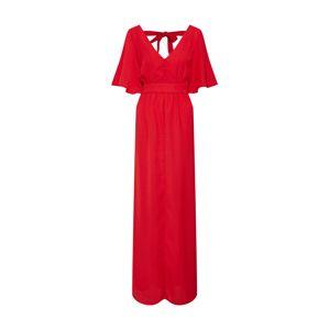 GLAMOROUS Večerné šaty  červené