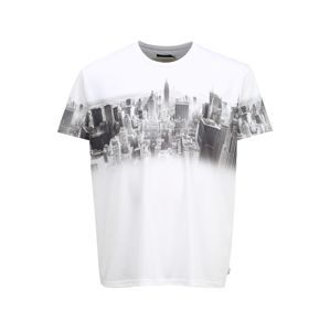 BURTON MENSWEAR LONDON (Big & Tall) Tričko 'Big and Tall White New York'  biela