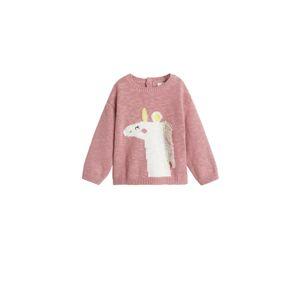 MANGO KIDS Sveter 'pony'  ružová