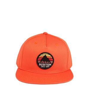 BURTON Športová šiltovka 'Underhill Hat'  oranžová / čierna