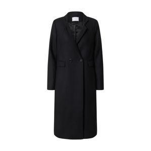 IVY & OAK Prechodný kabát  čierna