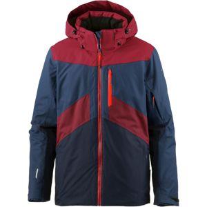 ICEPEAK Športová bunda 'KRIS'  námornícka modrá / červené