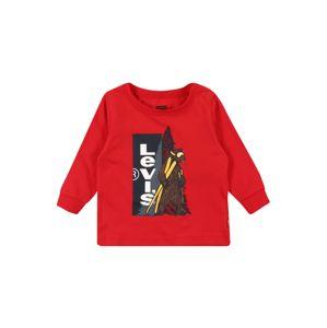 LEVI'S Tričko  červená / zmiešané farby
