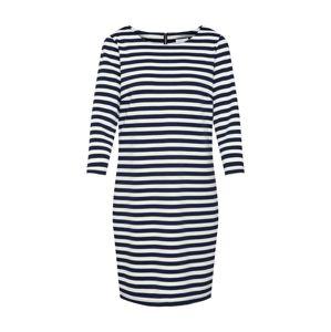 VILA Šaty 'Tinny'  námornícka modrá / biela