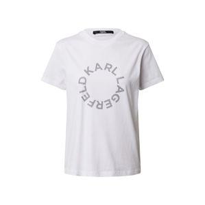 Karl Lagerfeld Tričko  biela