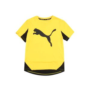 PUMA Sport-Shirt 'Active Sports Cat Graphic'  žlté