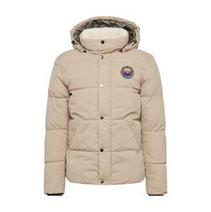JACK & JONES Zimná bunda 'SURE'  béžová