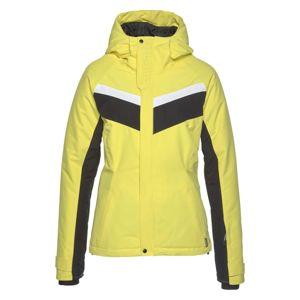 CHIEMSEE Outdoorová bunda  biela / žltá / čierna