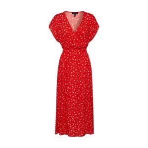 NEW LOOK Večerné šaty 'NELL ROSE MIDI'  červená