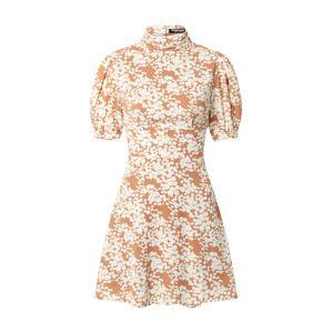 Fashion Union Šaty 'Venus'  biela / béžová