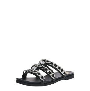 BUFFALO Sandále 'JANELLE'  čierna