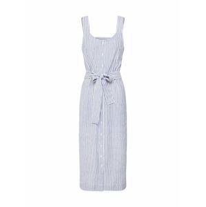 Kaffe Letné šaty 'KAbetty Dress'  modrá / prírodná biela
