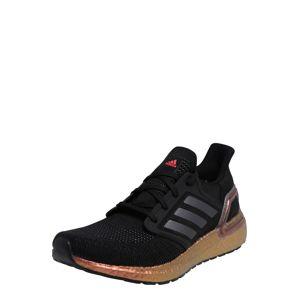 ADIDAS PERFORMANCE Bežecká obuv 'Ultraboost'  čierna / bronzová / strieborná