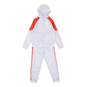 Nike Sportswear Joggingová súprava  biela / červená