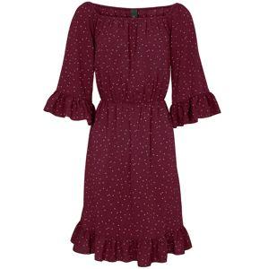 heine Letné šaty  bordové