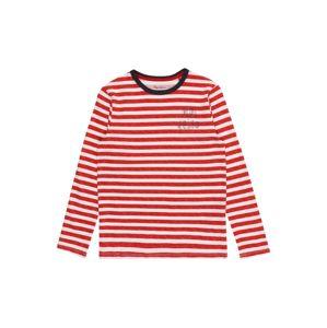 Pepe Jeans Tričko 'TOMMIAS'  biela / červená