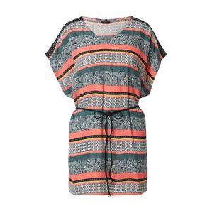 PROTEST Plážové šaty 'SLADE'  zmiešané farby / svetlooranžová / tmavozelená