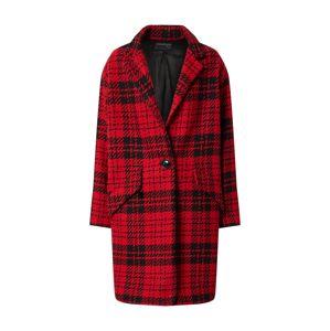 Ottod'Ame Prechodný kabát 'Giacca'  čierna / červená