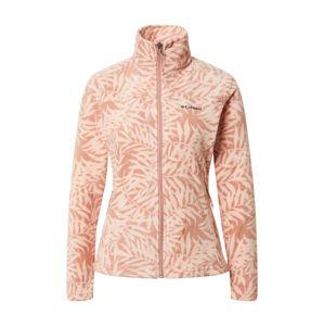 COLUMBIA Funkčná flisová bunda  ružová