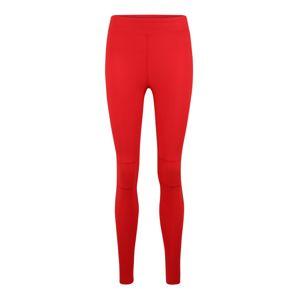 GUESS Športové nohavice  biela / červené