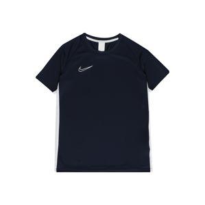 NIKE Funkčné tričko 'Academy'  biela / modrá